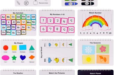 Busy Board Sensory Books for $17.99! 10 Themes!
