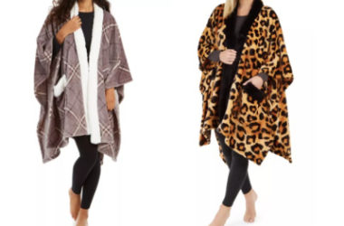 Cozy Plush Wrap 50″ x 70″ Throw Only $23.99 (Reg. $50)!