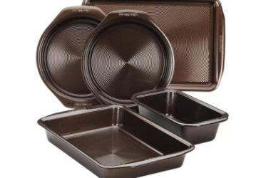 Circulon® Nonstick Bakeware 5-pc. Bakeware Set As Low As $32.79 (Reg. $60)!