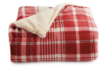 Cuddl Duds® Cozy Soft Plush to Faux Fur Throw Just $16.99 (Reg. $50)!