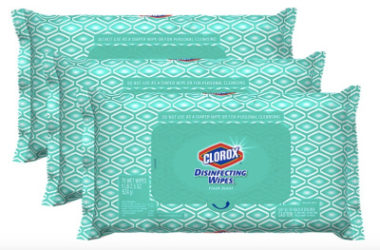 Clorox Disinfecting Bleach Free Cleaning Wipes 3 Pack As Low As $10.17 Shipped!