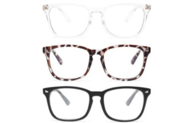 3 Pairs of Blue Light Blocking Glasses Just $6.39!