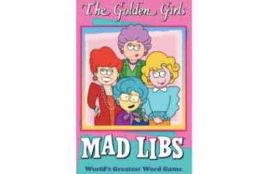 The Golden Girls Mad Libs Just $4.99!