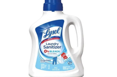 Lysol Laundry Sanitizer Additive As Low As $8.47 Shipped!