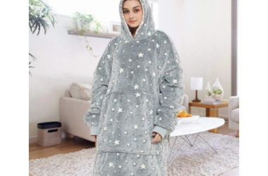 Oversized Sherpa Blanket Hoodies Only $31.99 (Reg. $45)!