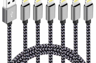 Six iPhone Chargers for just $8.99!
