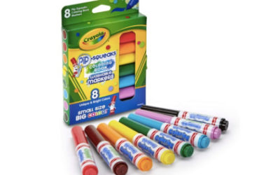 Crayola Pip-Squeaks Washable Markers Only $5.12 (Reg. $13)!