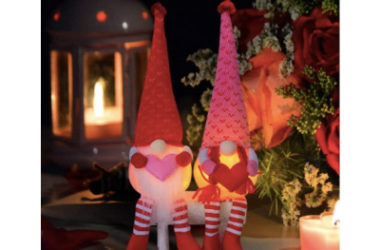 2 Light Up Valentine's Day Gnomes Just $11.97 (Reg. $40)!