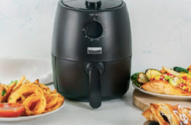 HOT! Bella Pro Series – 2-qt. Analog Air Fryer Just $17.99 (Reg. $40)!