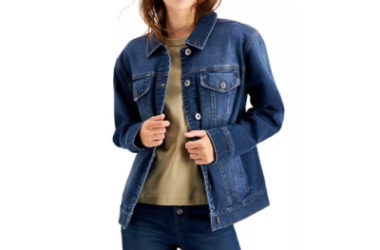 Denim Trucker Jacket Only $15.60 (Reg. $64)!