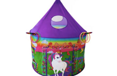 Unicorn Play Tent Only $18.65 (Reg. $35)!