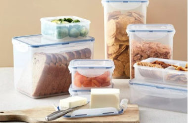 Easy Essentials Rectangular 10-Pc. Food Storage Set Only $11.99 (Reg. $25)!