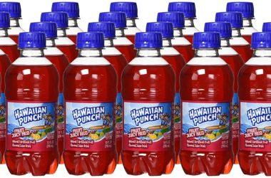 24-Ct Hawaiian Fruit Punch Bottles for $7.14!!