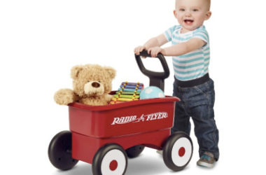 Radio Flyer, My 1st 2-in-1 Play Wagon Push Walker Only $19.97 (Reg. $25)!
