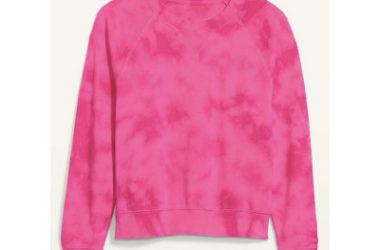 Vintage Tie Dyed Crew-Neck Sweatshirt Just $12 (Reg. $35)!