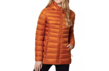 32 Degrees Packable Down Hooded Puffer Coat Only $25 (Reg. $100)!