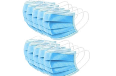 HOT! 50 PCS Disposable 3-Ply Safety Face Masks Only $2.49!