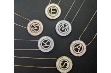 Sunburst Initial Necklaces $9.99 (Reg. $30) +Free Shipping!