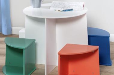 Kids Nesting Table Chair Set for $63.99 (Reg. $160.00)!