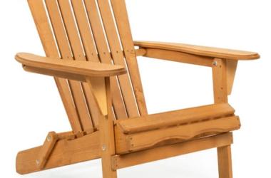Folding Adirondack Chair for just $64.99 (Reg. $100.00)!