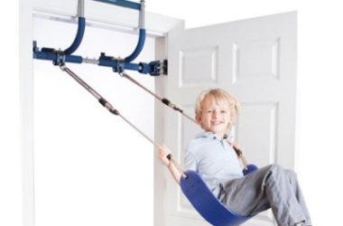 Blue Gym1 Indoor Swing & Doorway Pull-Up Bar Just $49.97 (Reg. $100)!