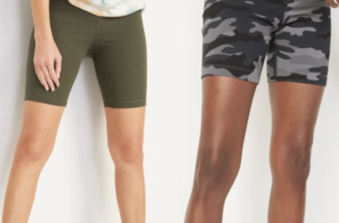Old Navy Bike Shorts for $7.00 (Reg. $15.00)!