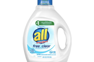 all Liquid Laundry Detergent, 58 Loads, As Low As $5.51 Shipped!