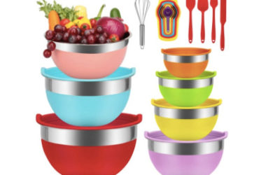 18pc Kitchen Tools Nesting Bowls Set Just $28.04 (Reg. $46)!