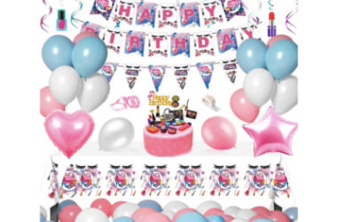 Birthday Party Supply Sets As Low As $7.44 Shipped!