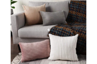 Pack of 2 Corduroy Throw Pillow Covers Only $6.79 (Reg. $17)!