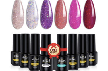 Glitter Gel Nail Polish Set Only $7.99 (Reg. $16)!