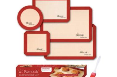 RENOOK Silicone Baking Mats Set Only $12.44 (Reg. $25)!