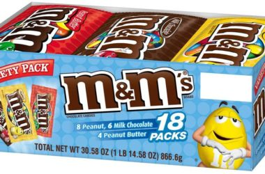 18-Ct of Variety M&Ms for just $8.66!