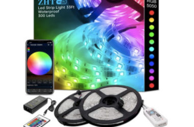 ZHT Smart LED Strip Lights Only $12.49 (Reg. $25)!