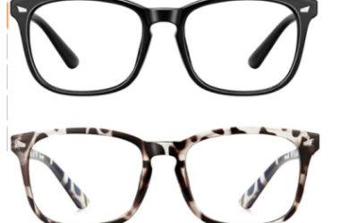 2 Pairs Blue Light Blocking Glasses Just $4.49 (Reg. $12)!