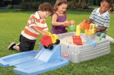 Little Tikes Big Digger Sandbox with Lid Only $39.98 (Reg. $50)!