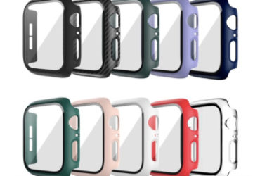 10 Pack Apple Watch Compatible Hard Cases Only $11.19 (Reg. $16)!