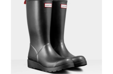 Women's Hunter Original Play Tall Pearlized Rain Boots Only $72 (Reg. $120)!