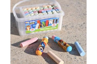 50 Piece Sidewalk Chalk Bucket Only $7.99 (Reg. $14)!
