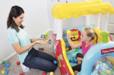 Fisher-Price Train Ball Pit with 25 Balls Just $19.99 (Reg. $40)!