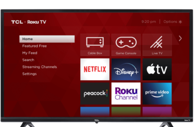 TCL 32-Inch Smart TV for $118.00 (Reg. $200.00)!