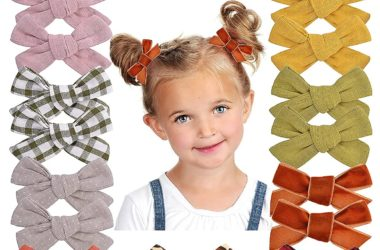 24 Hair Bows with Clips for just $7.99!!