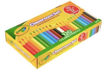 Crayola Classroom Set Colored Pencils Just $7.92 (Reg. $16)!