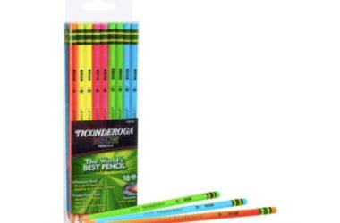 Ticonderoga Neon Pencils Just $4.49!