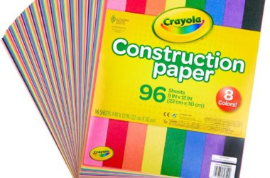 Crayola 96-Ct Construction Paper for $2.46!!