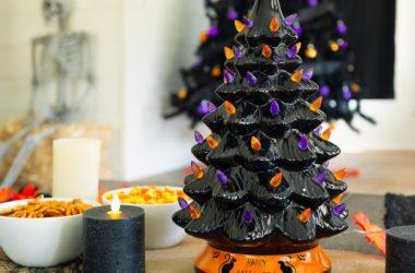 Pre-Lit Ceramic Halloween Tree for $35.99 Shipped!