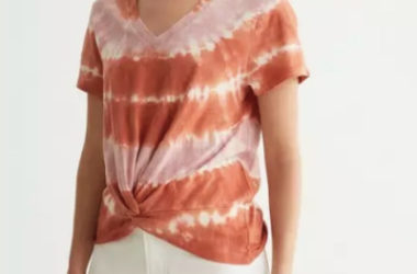 Twist Front Tees Only $21.33 (Reg. $40)!