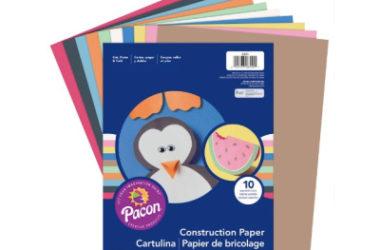 Art Street Construction Paper, 500 Sheets Only $5.73 (Reg. $25)!
