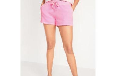 Women's Fleece Shorts Only $10!