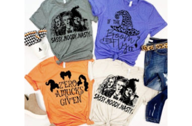 Super Cute Witchy Tees Only $14.98 (Reg. $30)!